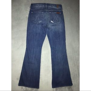 7 For All Mankind Jeans - 7 For All Mankind Distressed A Pocket Jeans 25
